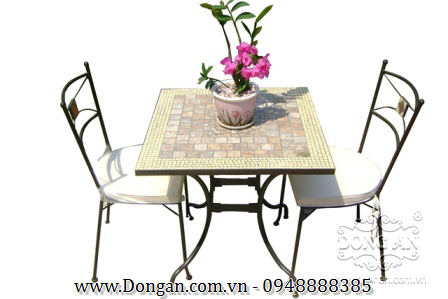 Mặt bàn đá mosaic DA13-MO07