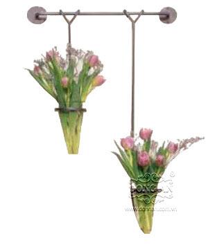 Móc treo hoa đẹp sắt mỹ thuật DA13-GT11