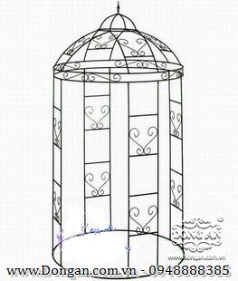 Nhà chòi sắt nghệ thuật DA13-NC01