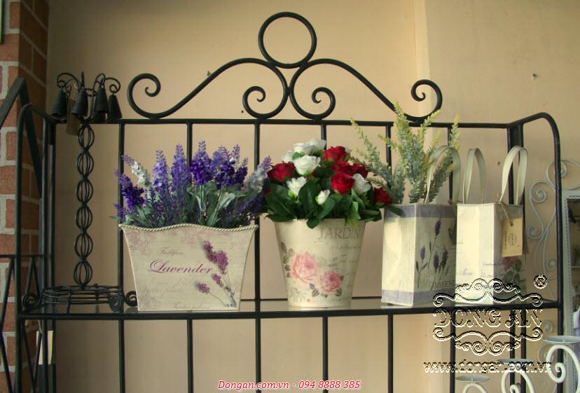Chậu hoa trang trí bằng nhôm