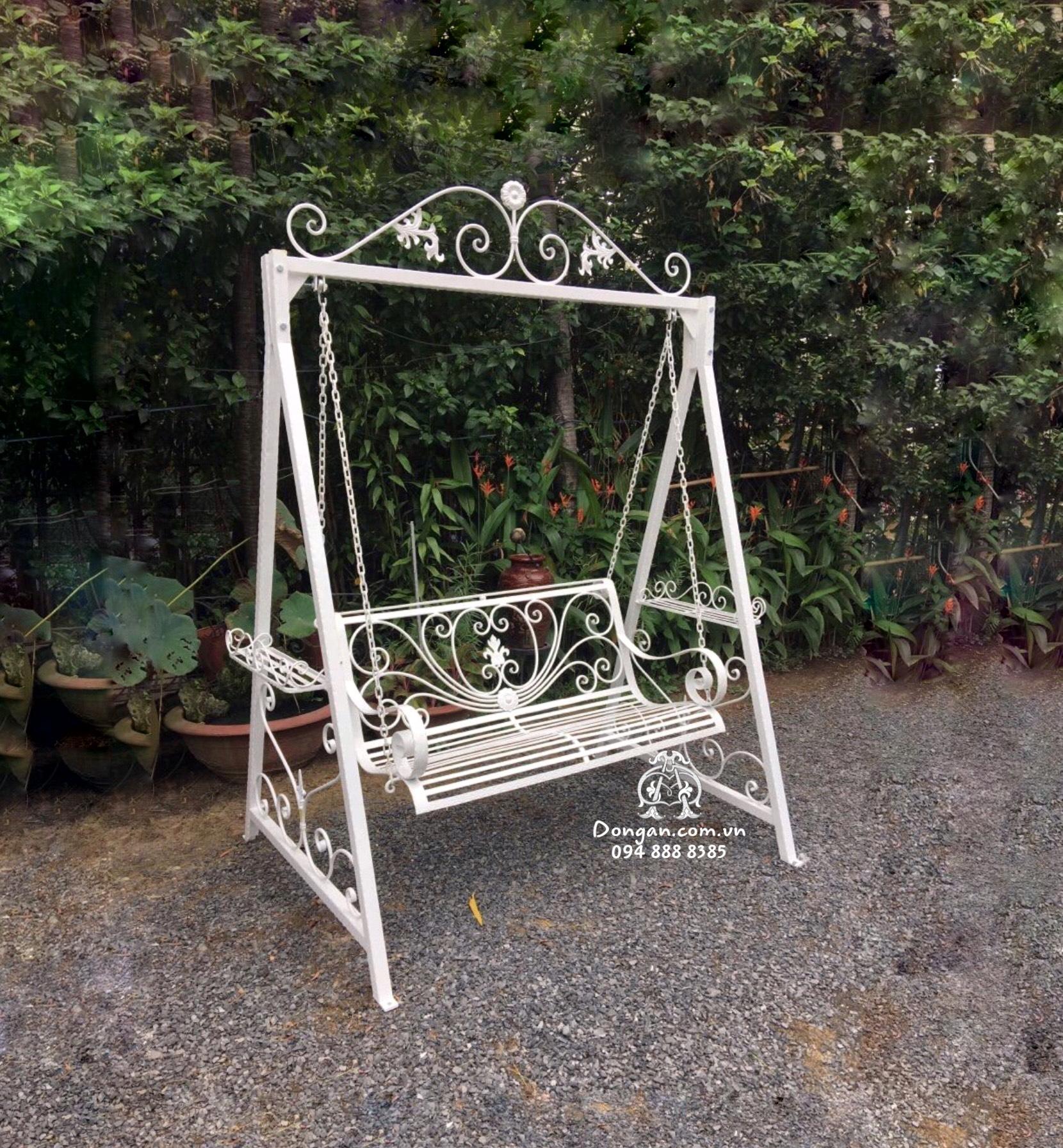 Swings iron garden art more lovely