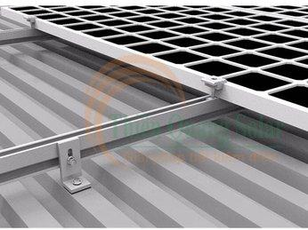 Cách lắp đặt pin năng lượng mặt trời trên mái tôn