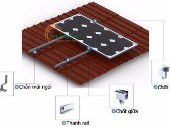 Phụ kiện lắp đặt pin mặt trời