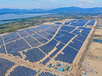 Nhà máy năng lượng mặt trời Phù Mỹ hòa lưới điện quốc gia