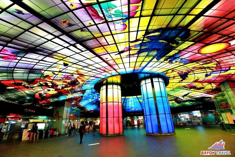 Tour du lịch Đài Loan 5N4Đ Làng Yêu Quái. Giá và ưu đãi tốt nhất