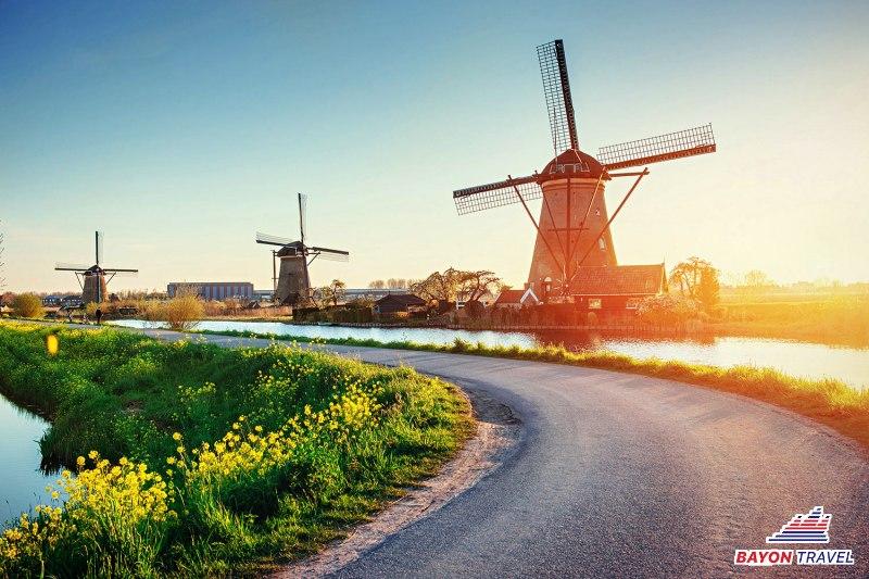 Du lịch châu Âu 4 nước cổ kính 8N7Đ. Dịch vụ chuẩn quốc tế
