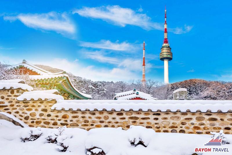 Tour du lịch Hàn Quốc - Seoul - Nami - Trượt Tuyết - Lotte World 4N4Đ