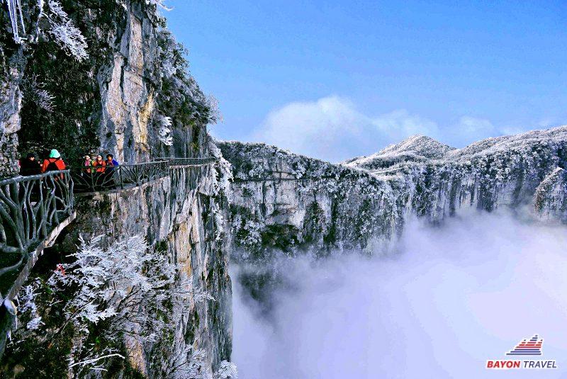 6N5Đ Tour du lịch Phượng Hoàng cổ trấn - Trương Gia Giới - Thang Máy Bách Long Thiên