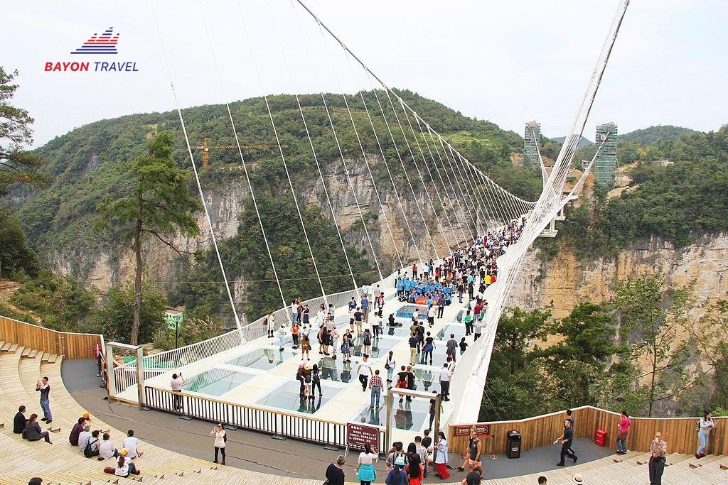 Tour du lịch Phượng Hoàng cổ trấn - Phù Dung trấn 5N4Đ. Dịch vụ 4 sao