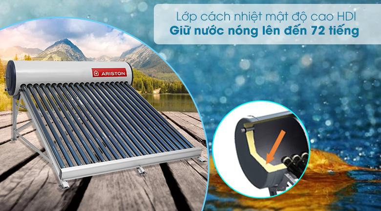 Máy nước nóng năng lượng mặt trời Ariston 175l F58