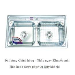 Chậu rửa chén inox Cao cấp DT84 - Đại Thành