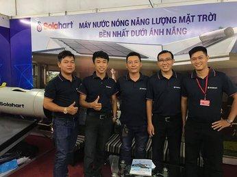 Triển lãm Máy nước nóng Solahart tại VietBuild 2021 - Hồ Chí Minh