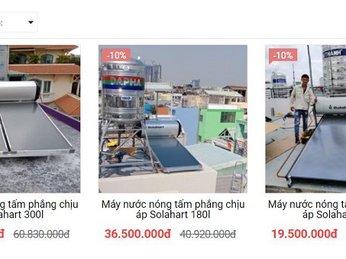 Giá máy nước nóng SOLAHART - sản phẩm từ AUSTRALIA