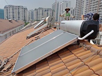 Những công trình sử dụng Lắp đặt máy nước nóng Solahart tiêu biểu