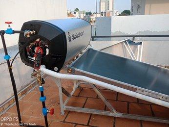 Lắp đặt Máy nước nóng Solahart Thủ Đức - 180L Premium