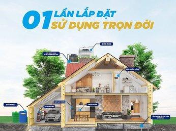 Trọn bộ sản phẩm Tân Á Đại Thành - Phồn Vinh cuộc sống Việt