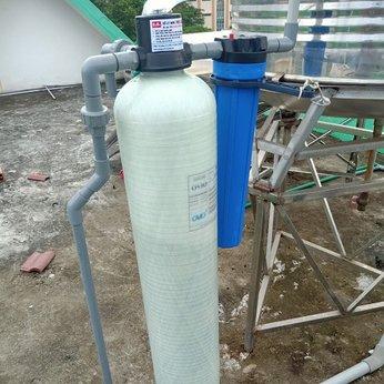 Bộ 1 cột composite Lọc nước đầu nguồn