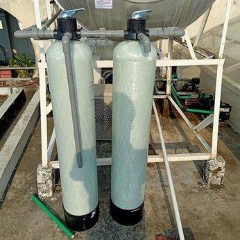 Bộ 2 cột composite Lọc nước đầu nguồn