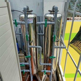 Bộ 2 cột INOX Lọc nước đầu nguồn