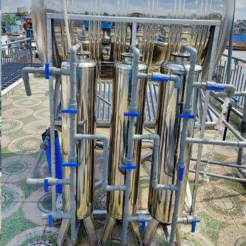 Bộ 3 cột INOX Lọc nước đầu nguồn