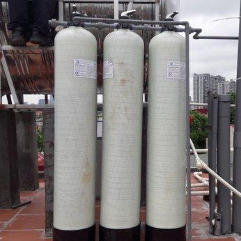 Bộ 3 cột composite Lọc nước đầu nguồn