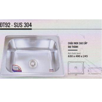 Chậu rửa chén inox Cao cấp DT92 - Đại Thành