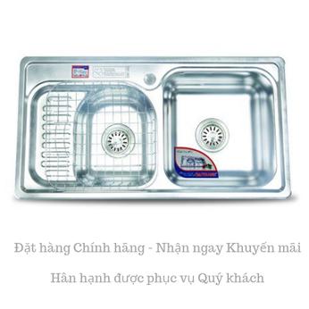 Chậu rửa chén inox Cao cấp DT81 - Đại Thành