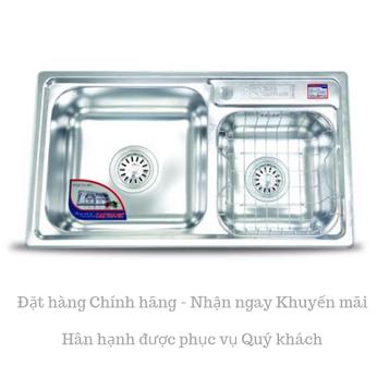 Chậu rửa chén inox Cao cấp DT83 - Đại Thành