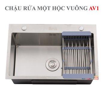 CHẬU RỬA INOX HWATA AV1