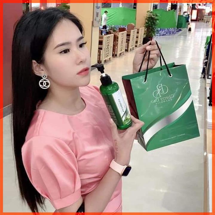 Bộ Dầu Gội Bưởi CRD Cherry Đào Chính Hãng✅Myphamcrd.com
