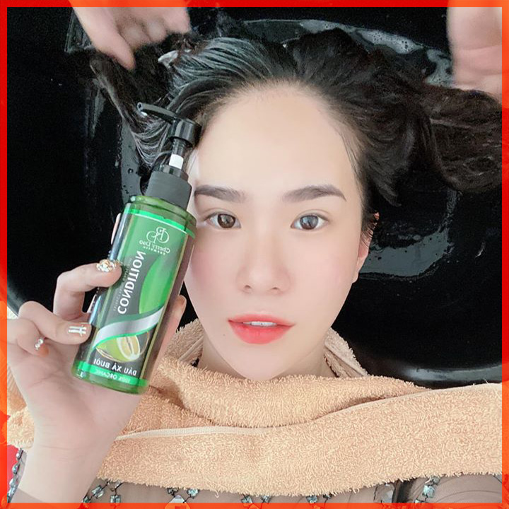 Dầu Xả Bưởi Ngăn Rụng Tóc CRD Cosmetic Cherry Đào Tặng Quà Hot