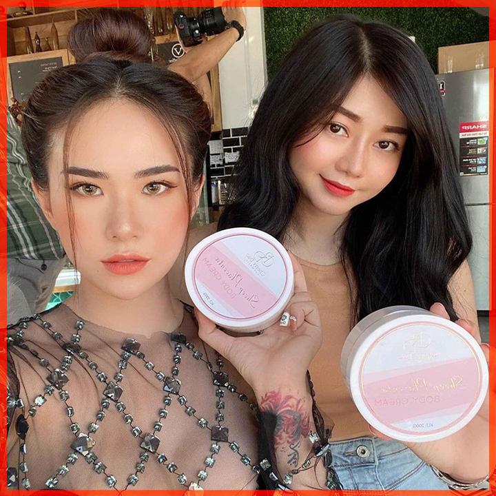 Kem Body Nhau Thai Cừu CRD Cosmetic Cherry Đào Tặng Quà Hấp Dẫn
