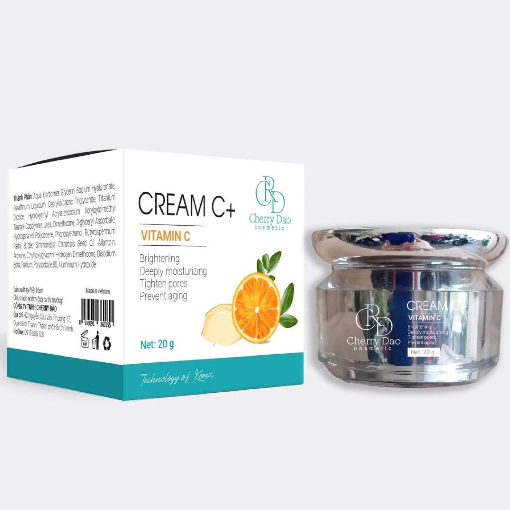 Kem Face Cream C+ CRD Cherry Đào Chính Hãng✔️Tặng Quà Hot