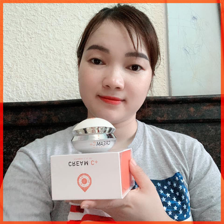 Kem Face Cream C+ CRD Cosmetic Cherry Đào Ban Ngày Tặng Quà Hot