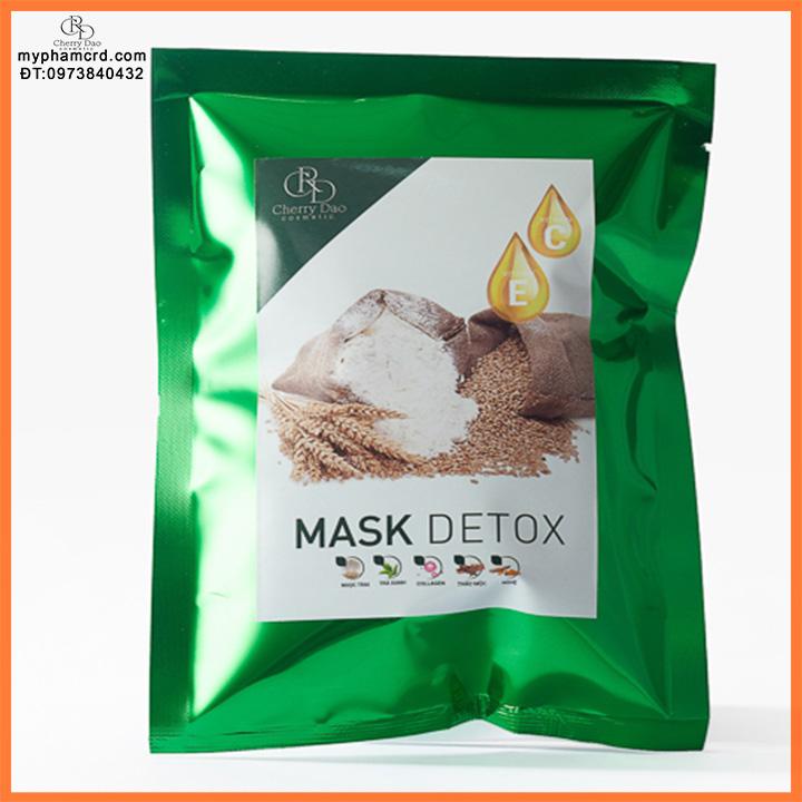Mặt Nạ Thải Độc Mask Detox CRD Cosmetic Cherry Đào Tặng Quà Hot