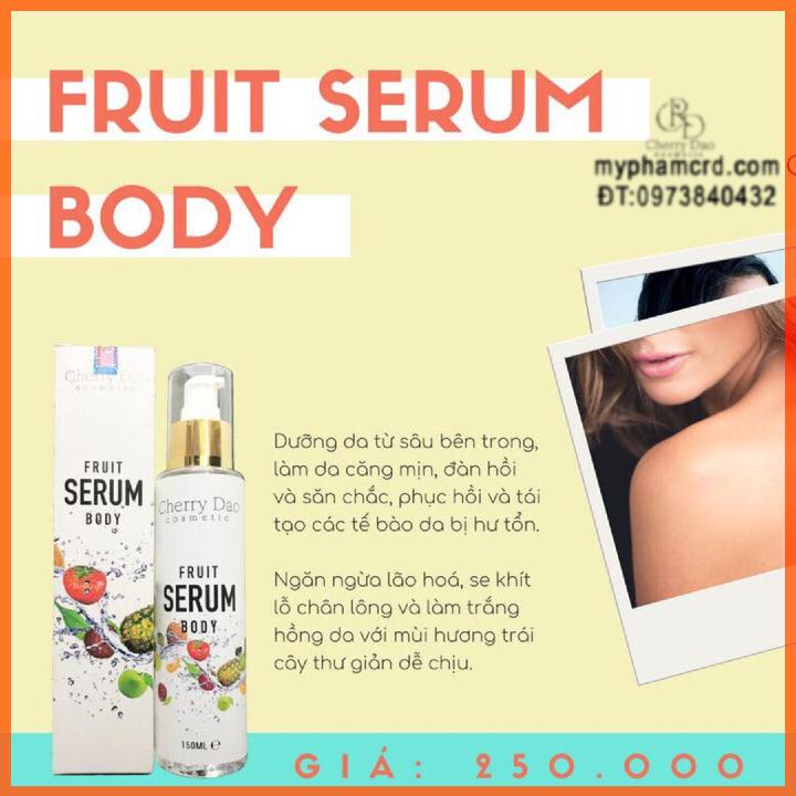 Serum Body Trái Cây CRD Cosmetic Cherry Đào Tặng Quà Hấp Dẫn