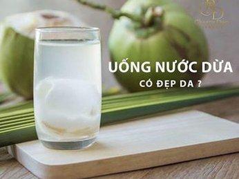 Dưỡng Da Bằng Nước Dừa