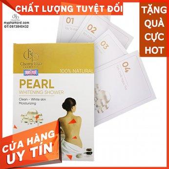 Bột Tắm Trắng Ngọc Trai CRD Cosmetic Cherry Đào