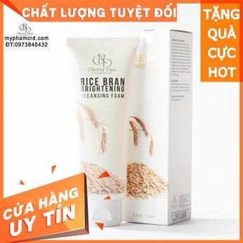 Sữa Rửa Mặt Cám Gạo CRD Cosmetic Cherry Đào