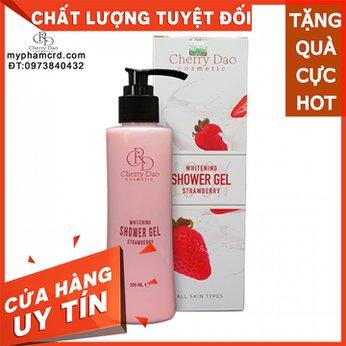 Sữa Tắm Trắng Dâu Tây CRD Cosmetic Cherry Đào