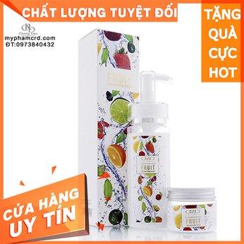Sữa Tắm Trắng Da Trái Cây CRD Cosmetic Cherry Đào