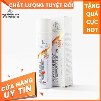 Kem Xịt Chống Nắng Body SPF 50PA+++ CRD Cosmetic Cherry Đào