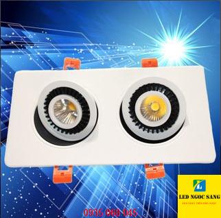 Đèn led âm trần 360 độ R5-10W phú quốc, đèn led âm trần phú quốc,