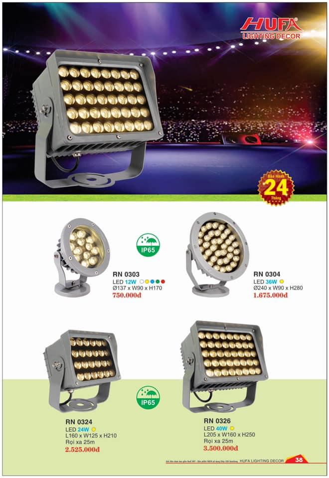 Đèn chiếu sáng Hufa