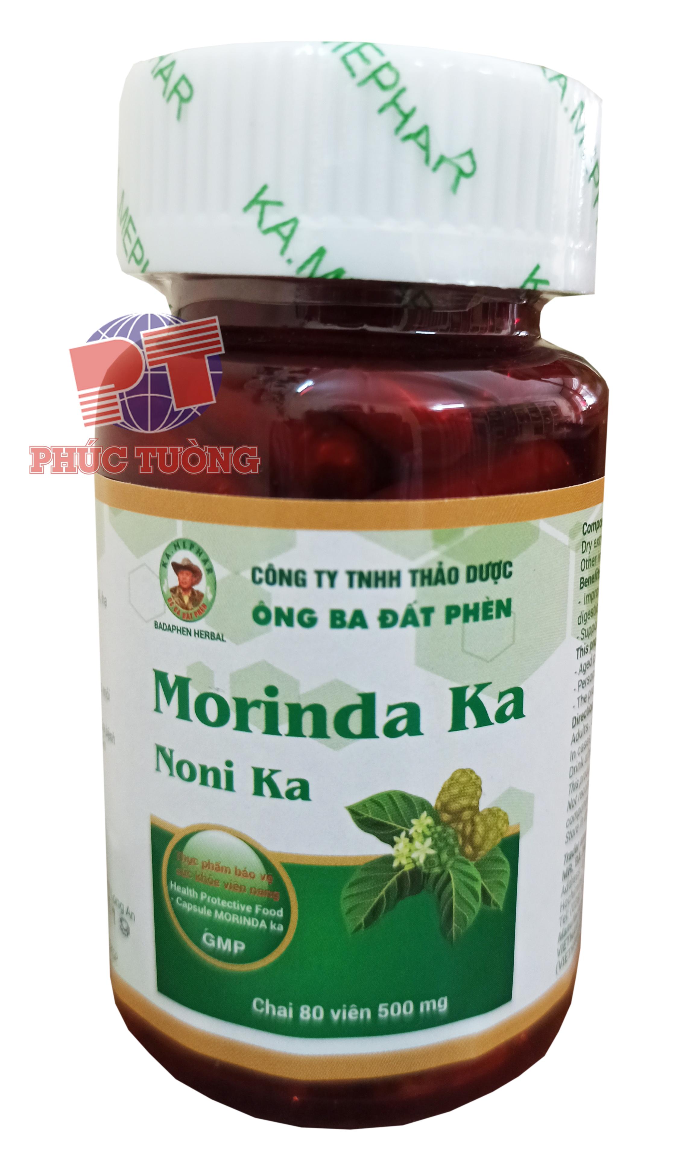 Morinda KA (Noni KA) - Kích thích tiêu hoá, tăng sức đề kháng
