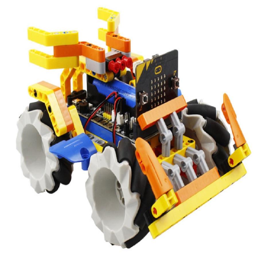 Omni:bit - Xe robot Omni Bit - Đồ chơi Lego - Lập trình Microbit