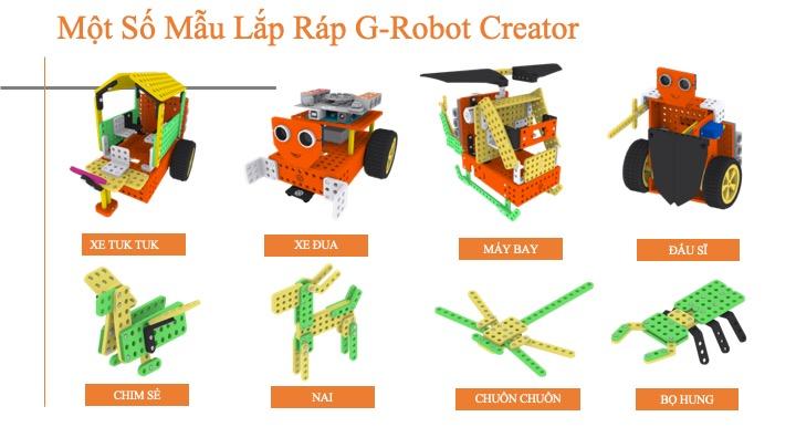Gbot - GaraSTEM Creator G-Robot - Xe robot lập trình cho trẻ em