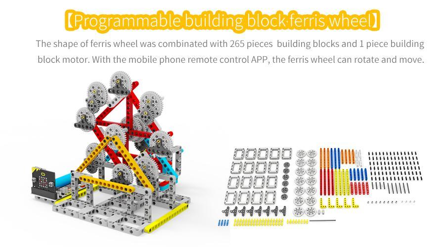 Spin:bit - Đu Quay Spin Bit - Đồ Chơi Lego - Lập trình Microbit