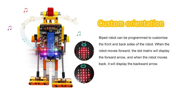Biped:bit - Robot Lego Biped Bit - Lego Education - Lập trình Microbit