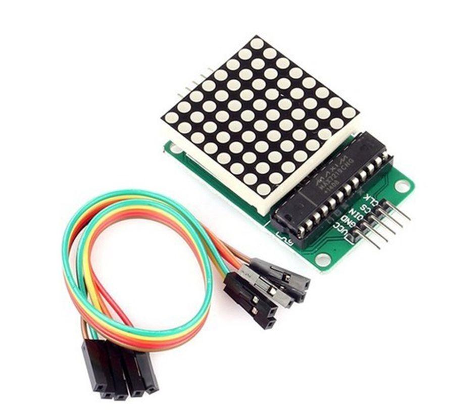 LED ma trận 8x8 MAX 7219 - bộ kit arduino - bộ kit micro:bit
